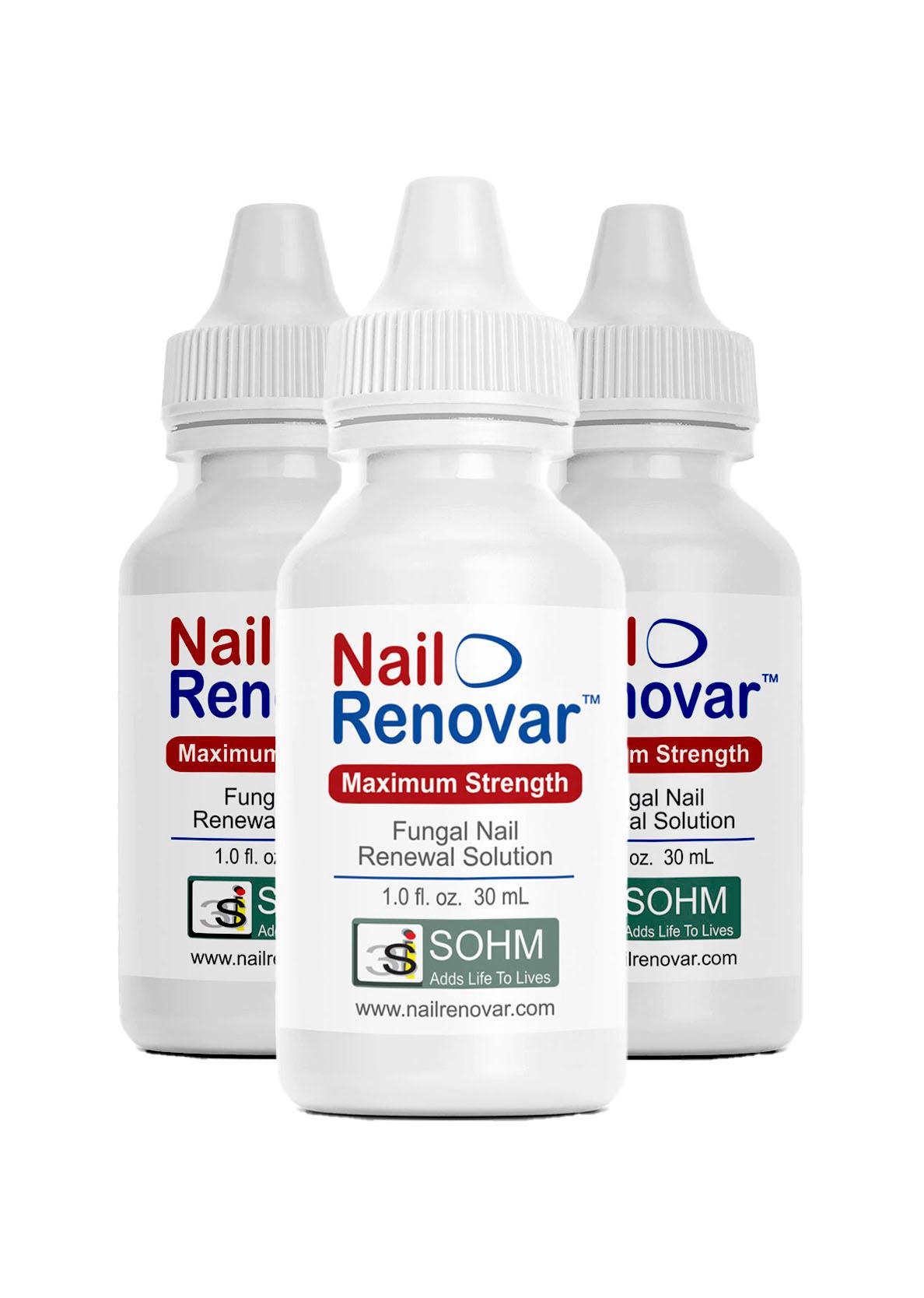 Nail Renovar Three Pack