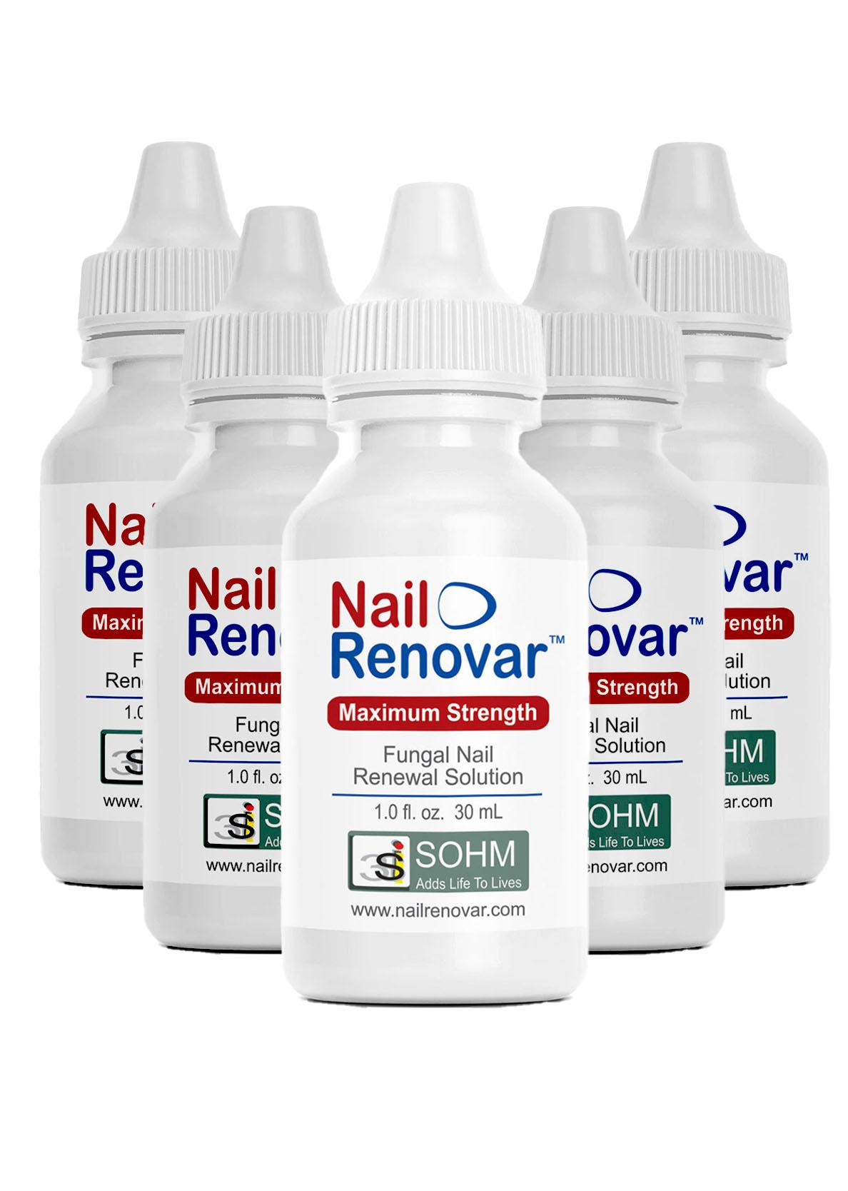 Nail Renovar Five Pack